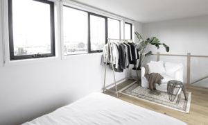 ボタニカルな海外ミニマリストのお部屋 寝室
